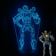 цена на APEX Legends Led Night Light PathFinder Night Lamp Bedroom Decoration Light Friends Birthday Gift Table Lamp Apex Legends Decor
