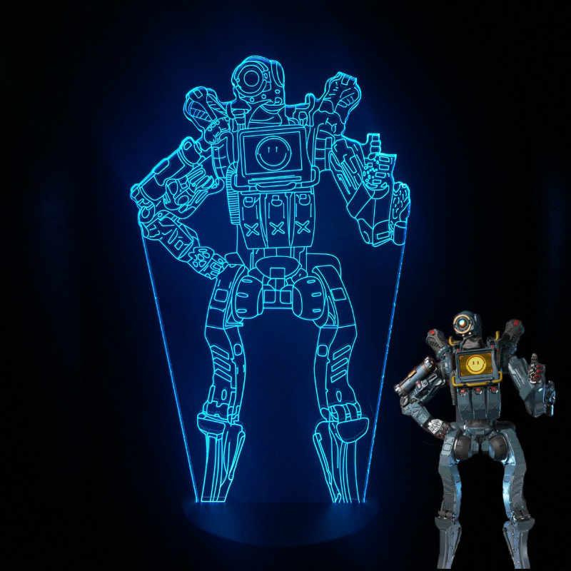 Apex Legends Led Night Light Pathfinder Night Lamp Bedroom