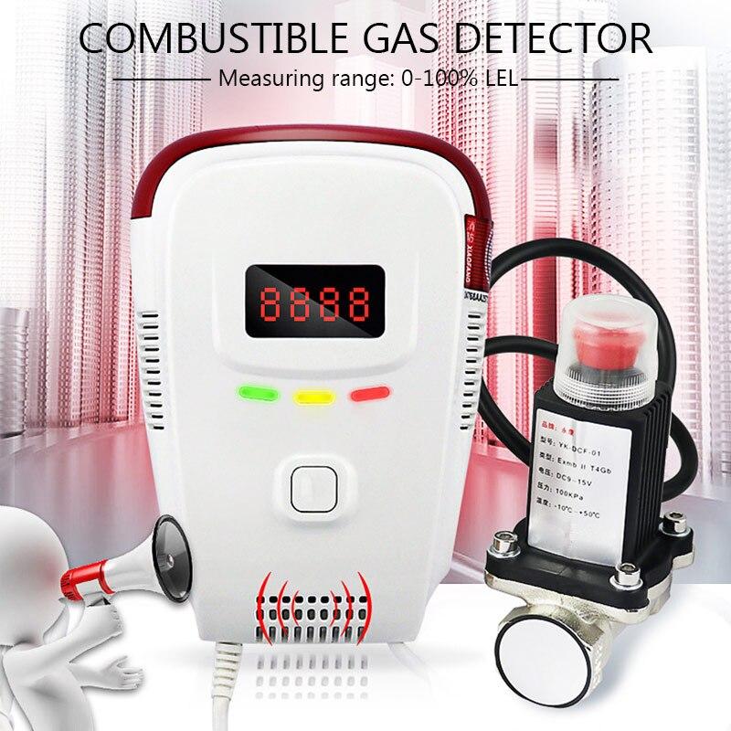 Verlegen Alarm Rauchmelder High Sensitive Stabile Unabhängige Home Security Natürliche Gas Detektor Sensor Feuer Alarm Ausrüstung Natürliche Befangen Unsicher Gehemmt Selbstbewusst