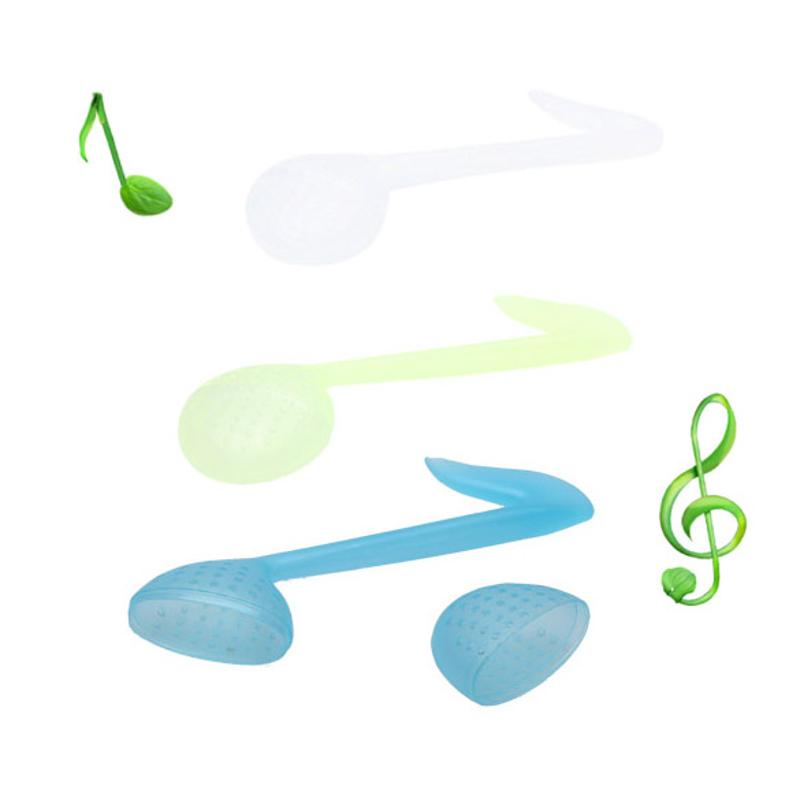 Creative Music Note Shape Tea Strainers Teaspoon Tea Infuser Filter Tea Tools Made From Recycled Plastic With An Ergonomic