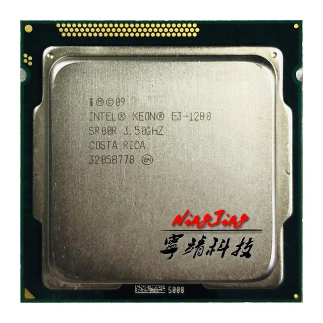Intel Xeon E3 1280 E3 1280 3.5 GHz Dört Çekirdekli İşlemci 8 M 95 W LGA 1155
