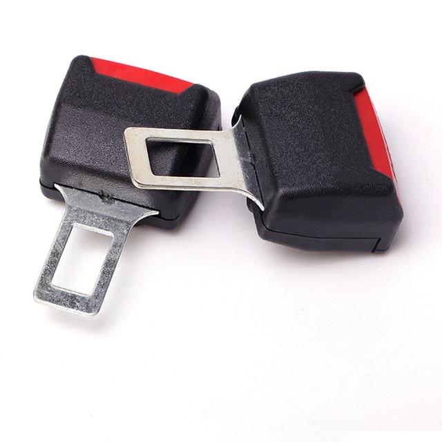 design de qualité 2d7c3 989d5 € 6.03 33% de réduction|2 pièces voiture universel ceinture de sécurité  porte carte Double usage ruban de sécurité prise voiture Multi usage  cartouche ...