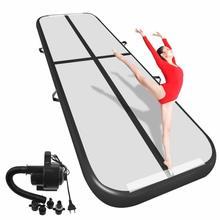 Бесплатная доставка 6 м/7 м/8 м * 1 м * 0,2 м надувной гимнастический Airtrack пол акробатика воздуха трек для детей и взрослых один Бесплатная Электронный насос