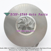 Turbo CHRA 54359880014 54359700014 For Fiat Doblo Grande punto Linea For Alfa Romeo For Opel Astra H Corsa Z13DTH Multijet 1.3L|turbo chra|chra turboturbo fiat punto -