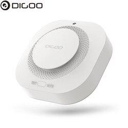 DIGOO DG-SA01 czujka alarmowa do wykrywania zadymienia niezależny fotoelektryczny czujnik dymu zdalny alarm pracy z brazylijka imieniem HOSA obsługi HAMA