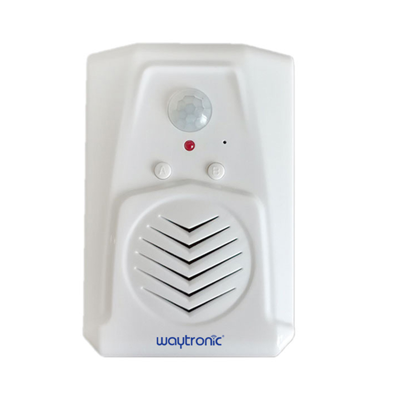 Waytronic Pir Infrared Motion Sensor Activated Voice Recordable Audio Player Entrance Welcome Doorbell For Shop Store With Usb