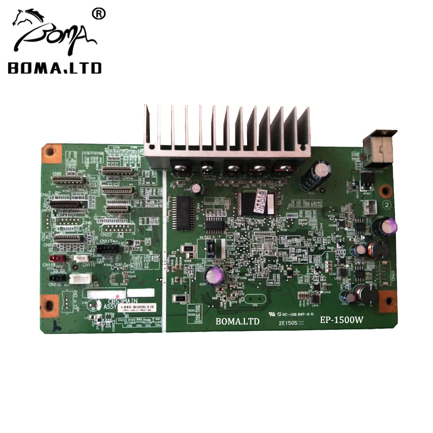 1500 Logic Main Board Original Printer Motherboard For Epson Stylus Photo 1500W Modified Flatbed Printer 90 NEW in Printer Parts from Computer Office