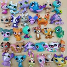 цена LPS Figure Toys Pet doll toy Kitty Pony Pup Cartoon Movie Animal Action Mini Pet toy collection Rare Glam Kids toy Gift Xmas онлайн в 2017 году