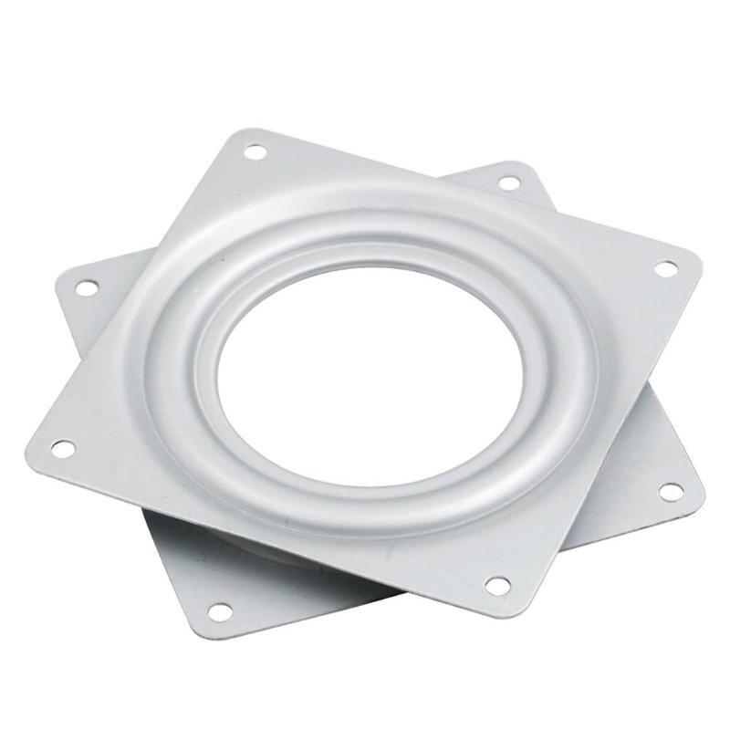 Swivel Platten 4,5 Zoll Kleine Ausstellung Plattenspieler Lager Schwenk Platte Basis Scharniere Für Mechanische Projekte Hardware Fitting E5m1