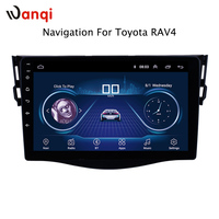 9 inch Android 8.1 Car GPS Navigation for Toyota RAV4 2007 2012 Support Stereo Audio Radio Video Bluetooth