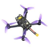 Leader3 /3SE 130mm FPV RC Drone Mini Mulitcopter F4 OSD 28A BLHeli_S 48CH 600mW Caddx Micro F1 PNP / BNF for FLYSKY FRSKY