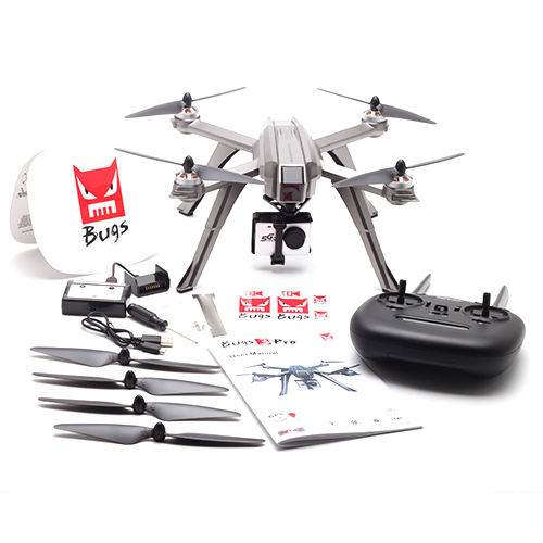 MJX Bug 3 Pro B3 PRO 5G WiFi Camera FPV RC Drone Dron 1080P HD Camera HD FPV Flight Quadcopter Brushless Dron Helicopter Toy RTF image