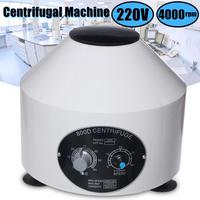 Mini 4000RPM Laboratory Electric Centrifuge Medical Practice Machine Lower speed Desktop Centrifuge With Timer