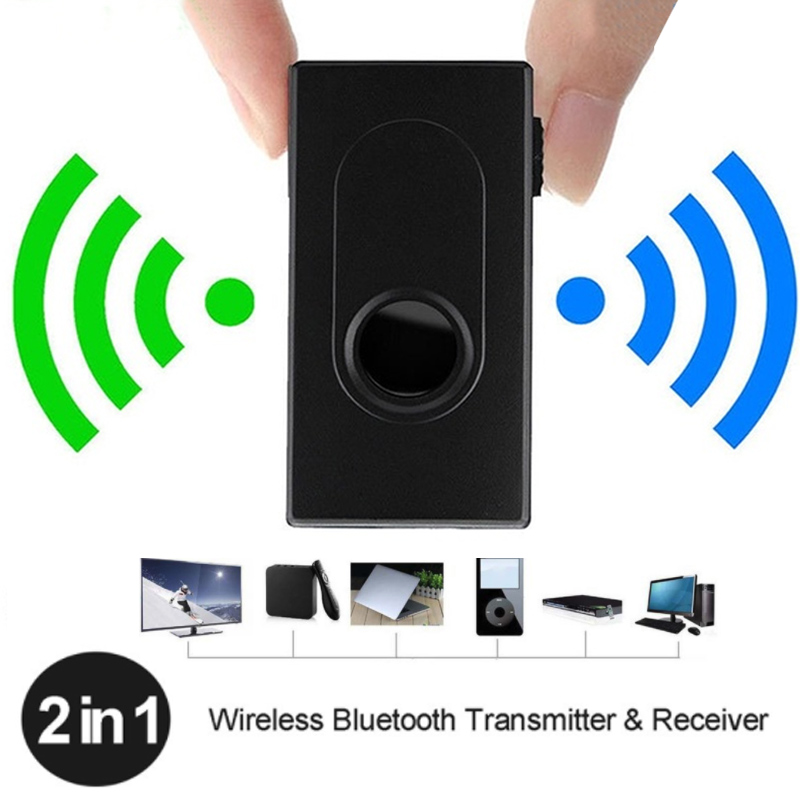 Bluetooth Transmitter Receiver 3.5mm Wireless A2DP Stereo Audio Music Adapter