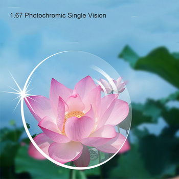 Coyee 1.67 Single Vision Prescription Lens for Optical Myopia Glasses Lens for Optical Myopia Glasses Eyewear High impact resist