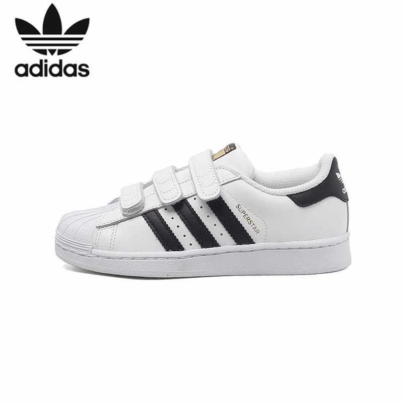 ADIDAS SUPERSTAR vakıf orijinal çocuklar kaykay ayakkabı nefes ışık çocuk spor açık ayakkabı # B26070