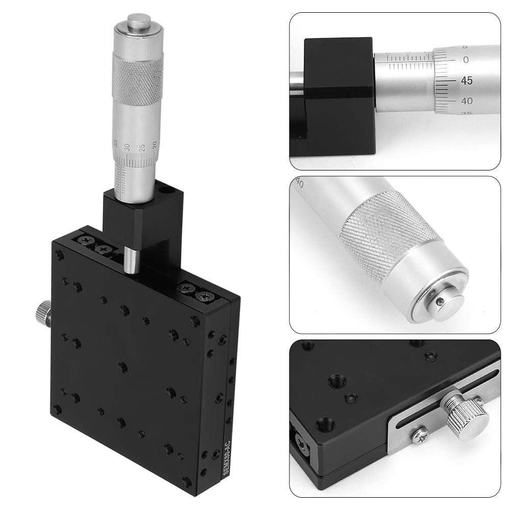SEMX80 AC X Linear Guide Sliding Track Micrometer Manual Fine tuning Cross Roller Precision Linear Stages