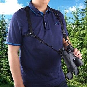Image 2 - X Shaped Harness Strap Adjustable Binoculars Carrier Elastic Durable Shoulder Straps Optics Accessories For Binocular