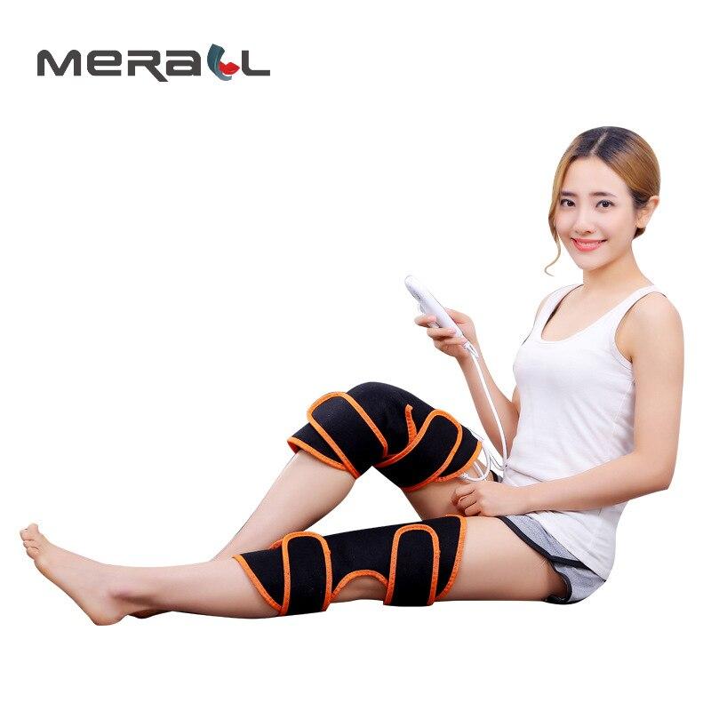 Электрический коленный бандаж поддерживает нагревание Регулируемая боль при артрите снимает снижение нагрузки на кости и суставы варикоз