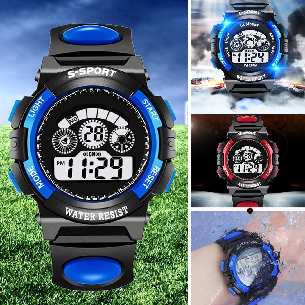 Synoke Sport Student Children Watch Kids Watches Clock Child Led Digital Wristwatch Electronic Wrist Watch Gilr Boy Gift Drop To Suit The PeopleS Convenience Watches