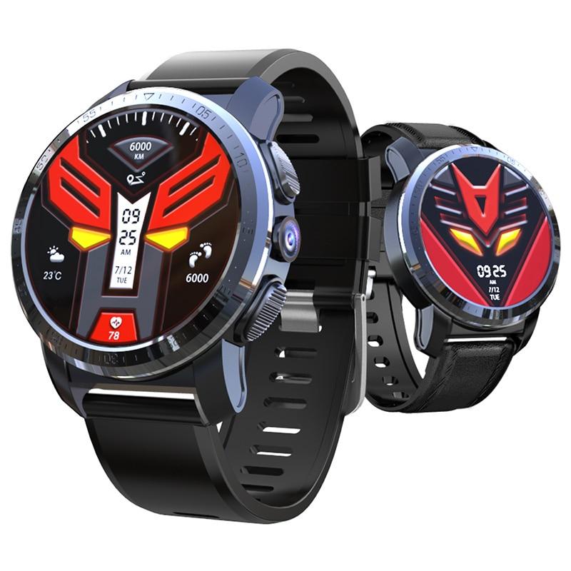 Kospet Optimus Pro Dual Systems 4G Smart Watch Android Phone 3GB 32GB 8MP Camera GPS SIM 800Mah Battery Waterproof Smartwatch