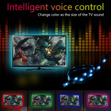 5v Светодиодные ленты ТВ ПК 5050 цветная (rgb) Водонепроницаемый