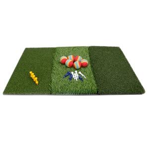 Image 4 - גולף דשא מחצלת כוללת הדוק שקר מחוספס ומעבר פתוח עבור נהיגה ולשים בפועל גולף והכשרה 3 ב  1 דשא דשא מחצלת
