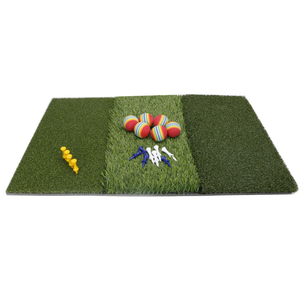 Image 4 - Golf Grass Mat Includes Tight Lie Rough and Fairway for Driving and Putting Golf practice and Training 3 in 1 Turf Grass Mat-in Golf Training Aids from Sports & Entertainment