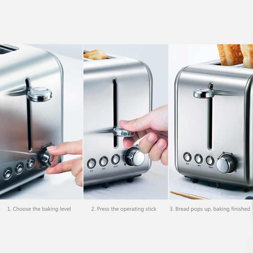 Xiaomi Deerma maszyna do pieczenia chleba toster elektryczny gospodarstwa domowego automatyczne śniadanie Toast Sandwich Maker Reheat kuchnia Grill piekarnik
