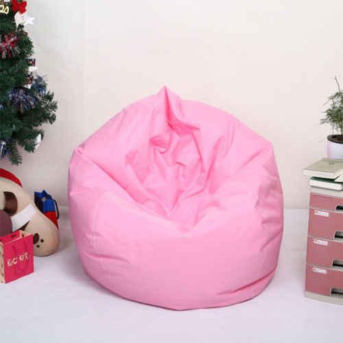 Cadeira Beanless Fillable Assento Do Sofá do Saco de Feijão Espreguiçadeira Sofá Da Sala De Jogo de Viagem Casa w