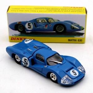 Image 3 - 1:43 Atlas Dinky oyuncaklar 1425E mavi MATRA 630 alaşım #5 Diecast modelleri oyuncak araba sınırlı sayıda koleksiyonu