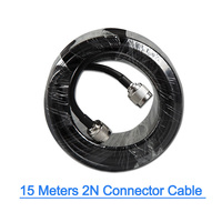 Bakeey Low Loss RF Coaxial Cable N male to N Female Connector for Cell Phone Signal Booster Antenna New 15 Meters 50ohm 15M