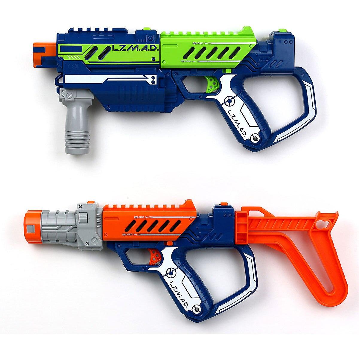 Silverlit Toy Guns 8445411 gun weapon toys games pneumatic blaster boy orbiz revolver Outdoor Fun Sports