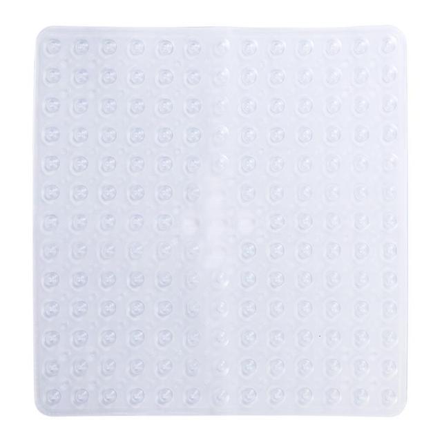 Bagno Antiscivolo Zerbino Quadrato Da Bagno Doccia di Sicurezza Zerbino s PVC Anti-Batterico Resistente alla Muffa Antiscivolo Zerbino
