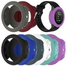 Garmin fenix 5 스마트 시계 다채로운 실리콘에 대 한 고품질 실리콘 보호 케이스 커버 팔찌 팔찌 수호자
