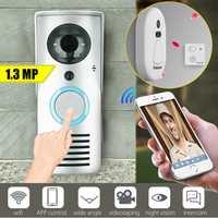 Smart WiFi Wireless Doorbell Camera Phone Video Intercom IR Security Door Bell APP Control Home Security Monitoring