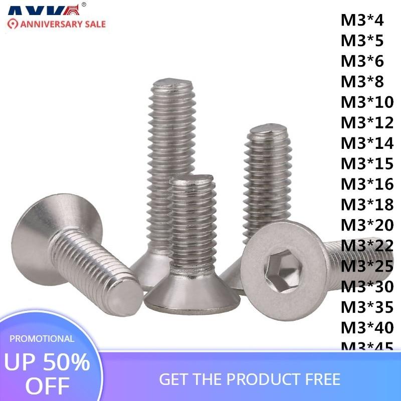M2//M2.2//M2.6//M3//M4//M5 Wood Chipboard Pan Head Flat Tail Self Tapping Screws G304