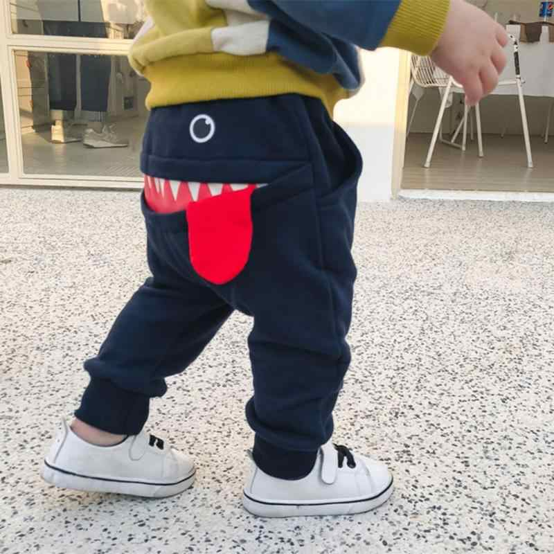 9b0202eed405 ... Baby Boy Clothes Full Length Pants Cotton Toddler Spring Harem Pants  Newborn Casual Trousers Loose Infants ...