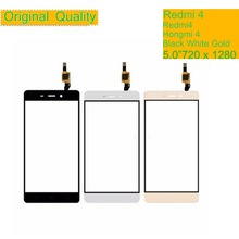 10Pcs/lot ORIGINAL For Xiaomi Redmi 4 Redmi4 Touch Screen Digitizer Panel Sensor Front Outer Glass Touchscreen