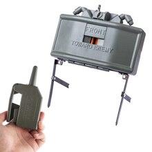 전기 원격 제어 클레이 모어 물 구슬 클립 물 총알 공 폭탄 야외 CS Airsoft 전술 장비 2019 뜨거운 판매