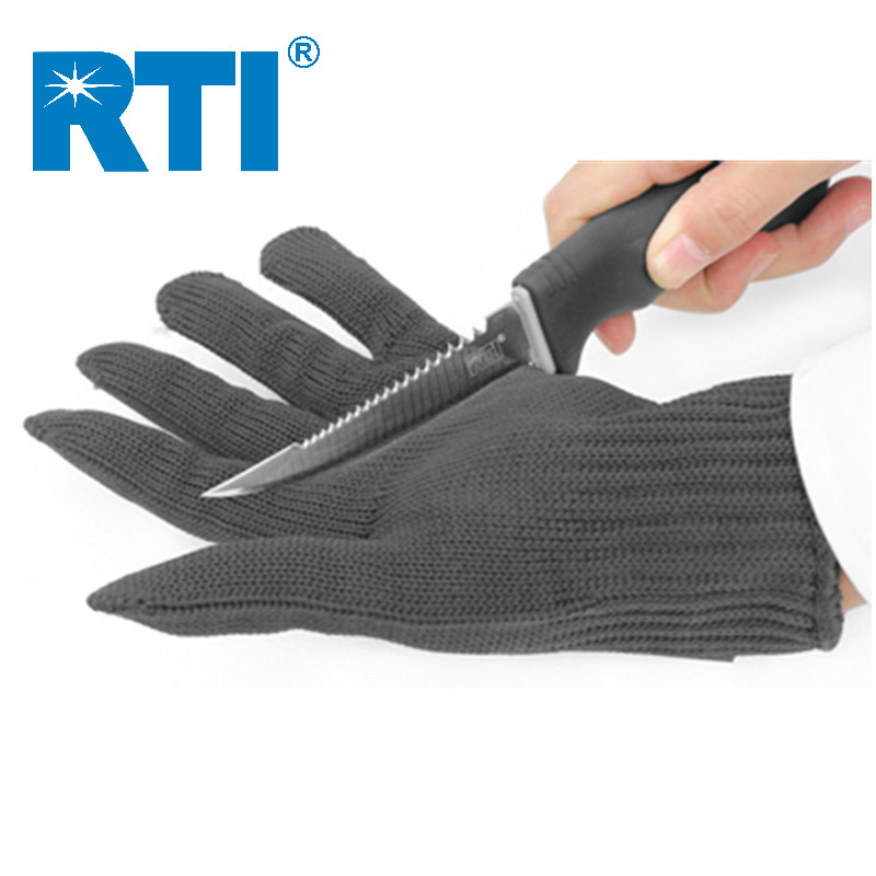 Doreza mbrojtëse RTI Anti-shqip me prerje me tela çeliku inox 24,5 - Peshkimi