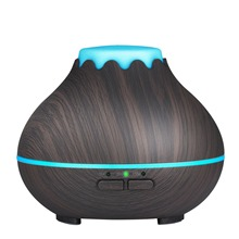 Mini Aroma Essential Oil Diffuser, 150Ml Ultrasonic Cool Mist Humidifier With Color Led Lights Changing And Waterless Auto Shu