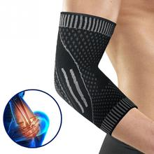 Nylon Breathable Soft Arm Protection Pain Reliefer Sports Pad Workouts Elbow Brace Compression Support Elbow Sleeve #20 стоимость