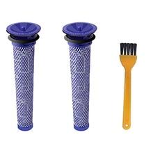 лучшая цена Washable Pre Motor Stick Filter Compatible For Dyson Dc58 Dc59 Dc61 Dc62 V6 V7 V8 Animal Handheld Vacuum Replacement Filters F