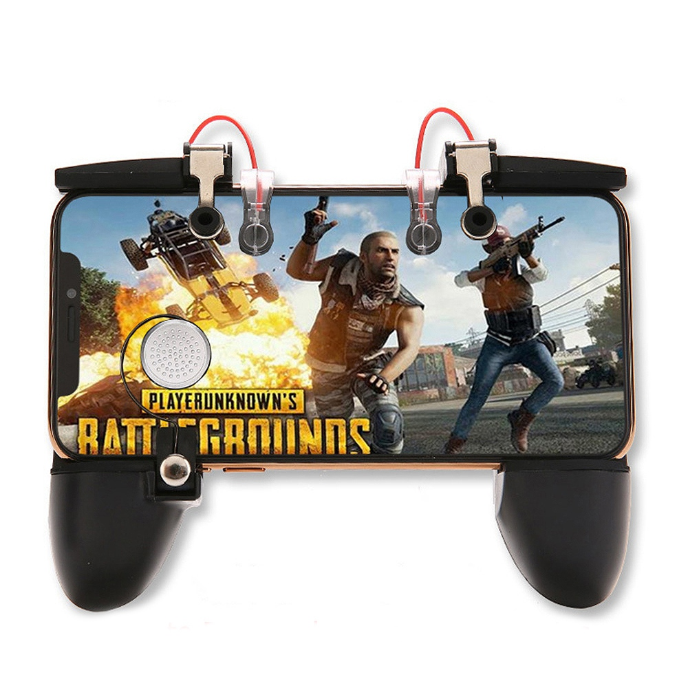 Mobile Phone Controller Joystick For Pubg Game Handle Trigger Gamepad Fire Button Handle For Iphone Android Console Accessorie