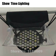 SHOW Time 10pcs/lot LED PAR Rain Cover Stage Light Rain Snow Coat Waterproof Covers With Transparent Crystal Plastic crystal show