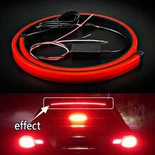 1Pcs Red Car High Braking Light Mount Stop Rear Tail Warning Universal Strobe Controller Brake flashing lamp