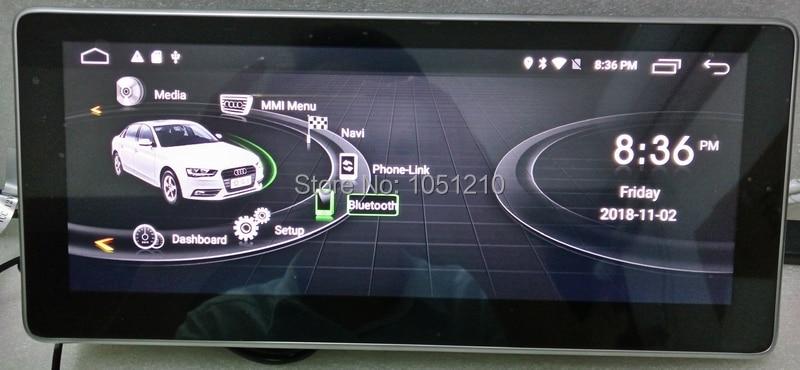 Ouchuangbo 10.25 pouces voiture médias radio gps navigation pour Q7 2006-2009 avec Android 9.0 wifi miroir lien 8 core 4 GB + 64 GB