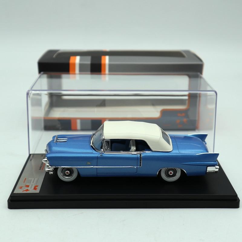 Premium X 1 43 Cadillac Eldorado Biarritz 1956 Blue White PRD581 Diecast Models Car Limited Edition