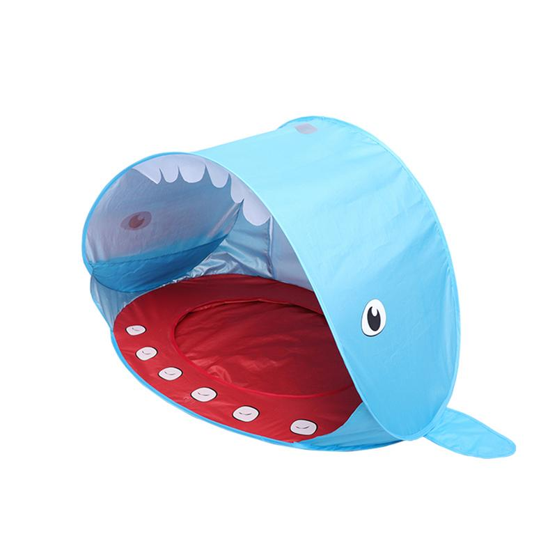 Beach shark shape childrens tent outdoor pop-up portable sunshade UV protection sun protection shed tent folding outdoor Beach shark shape childrens tent outdoor pop-up portable sunshade UV protection sun protection shed tent folding outdoor